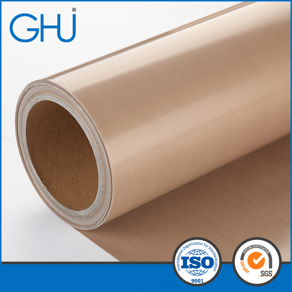 PTFE Fabric with Brown Color